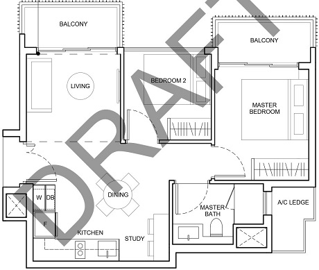 Forest Woods Residences Floor Plan