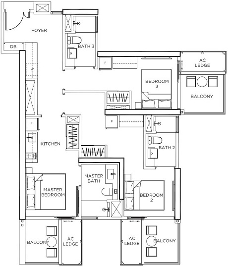 GEM Residences Floor Plan
