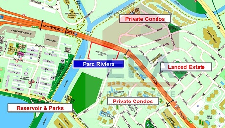 Image result for parc riviera location map
