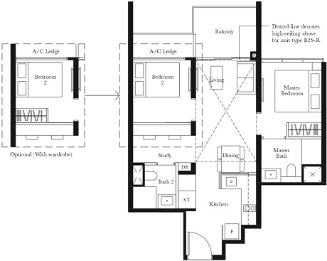 The Garden Residences Floor Plan