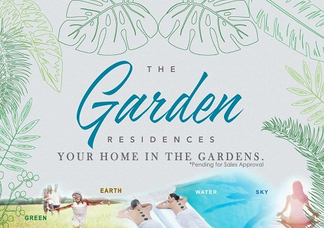 The Garden Residences Logo Condominium Singapore