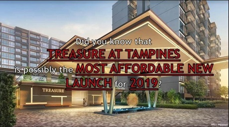 Treasure At Tampines The most affordable new launch in 2019
